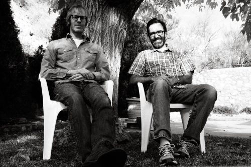 Jeff and Pete in El Paso / Photo by Jeff Sirkin